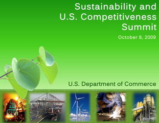 Sustainability Summit Event Poster
