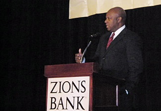 Rick Wade at the International Trade and Business Conference, Salt Lake City, May 20, 2009