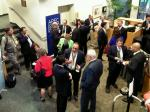 Individuals networking at the APBO 2011 Conference.