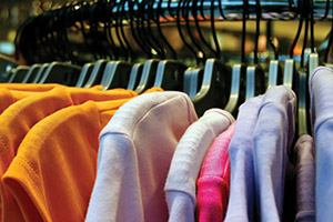 The Western Hemisphere accounts for roughly two-thirds of all U.S. textile and apparel exports—the largest of any market. In 2010, the United States exported nearly $13 billion worth of textiles and apparel to the region. (photo © skowa/iStock)