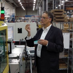 "Jim Happ, president of Labcon North America, at the company's manufacturing facility in Petaluma, California. According to Happ, many U.S. businesses ""are unaware that the rest of the world wants everything that we have, and that they really respect Americans and American products."" (photo courtesy Labcon North America)"