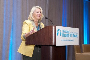 Principal Deputy Assistant Secretary for Manufacturing and Services Maureen Smith Speaks at National Health IT Week