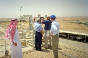 Saudi Arabian Solar Radiation Station Maintenance