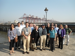 Trade Mission delegates visit Mumbai's JNTP Port