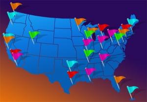 Top 25 metropolitan export markets for 2010