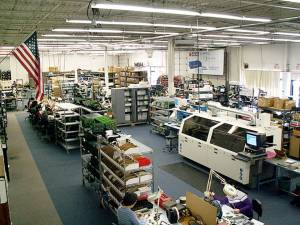 Patton Electronics Company production facility in Gaithersburg, Maryland