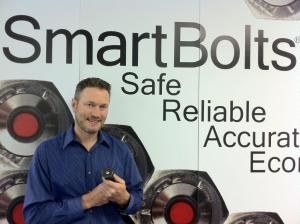 Charles H Popenoe, III, President of Stress Indicators with SmartBolts, a product his father invented.