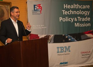 Under Secretary Francisco Sánchez during the Healthcare Technology and Policy Trade Mission (Photo: Eduardo Sanchez)