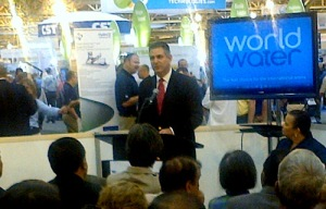 Under Secretary Francisco Sanchez speaks at WEFTEC launching the U.S. Enivronmental Export Initiative and web portal on Export.gov.