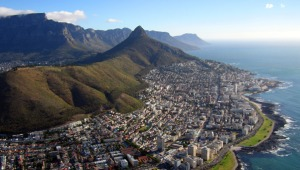 Aerial view of Cape Town, South Africa. (photo © Graham Bedingfield/iStock)
