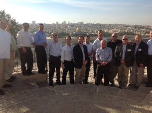 The Oil and Gas Trade Mission to Israel business delegation.