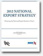 2012 National Export Strategy Cover Image