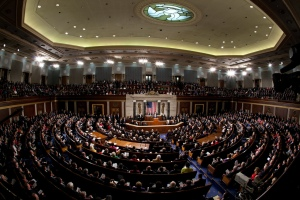 Archived photo showing Congress during 2011 State of the Union Address.