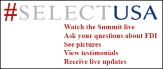 Follow #SelectUSA to get live updates from the SelectUSA 2013 Investment Summit.