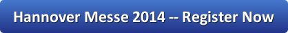 Register now for the Hannover Messe 2014 investment event