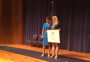 Icelantic Skis was one of 65 companies and organizations recognized by Commerce Secretary Penny Pritzker with a President's E Award for supporting U.S. exports.