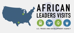 Logo for the African Leaders Visit