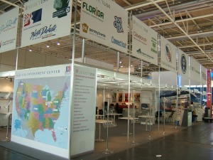 USA Investment Center at Hannover Messe, April 2014