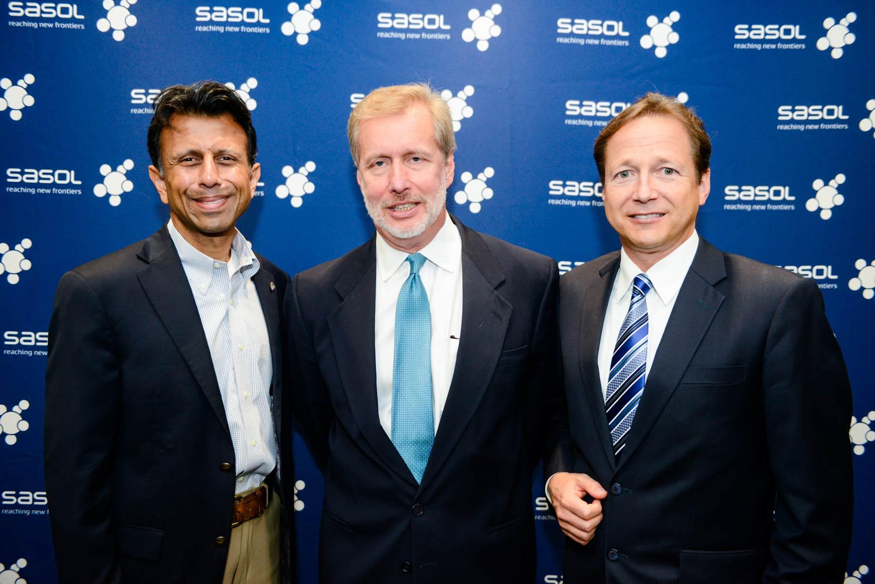 Under Secretary Hyatt (center) Joined Louisiana Governor Bobby Jindal (left)  And Sasol  Jobs That Are Left
