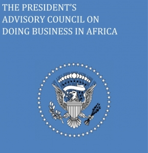 The President's Advisory Council on Doing Business in Africa Cover Image