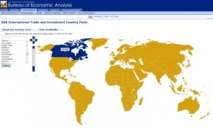BEA's New Data Tool Provides Fast Access to Trade and Investment Stats for Countries