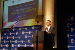 Commerce Deputy Secretary Bruce Andrews Addresses First-Ever U.S.-Ukraine Business Forum