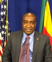 Omar Arouna,Benin Ambassador to the United States