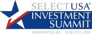 Logo for SelectUSA 2016 Investment Summit