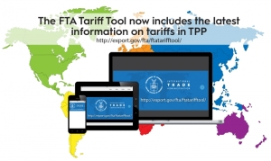 FTA Tariff Tool now includes the information on tariffs in TPP