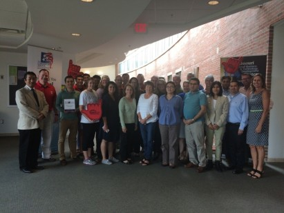 Participants of the NASBITE CGBP Preparation Training Workshop on August 8-10, 2017 at the Robert J. Trulaske, Sr. College of Business at the University of Missouri in Columbia, Mo.