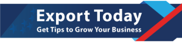 Logo for Export.gov's new email service, Export Today.
