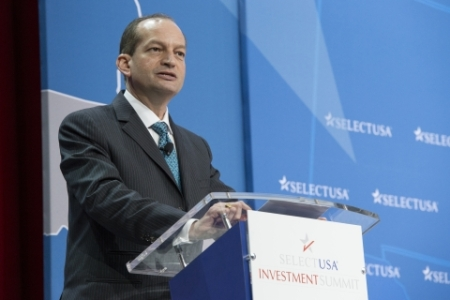 Secretary of Labor Alexander Acosta