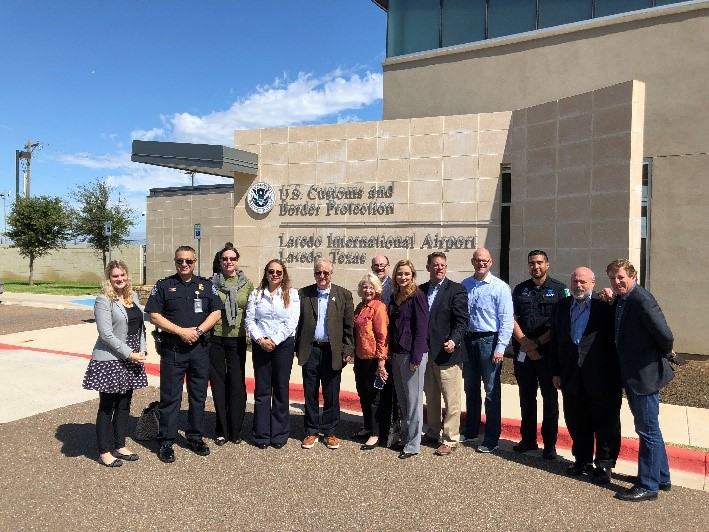 ACSCC-ITA oustide Laredo Airport Inspection Station 110819