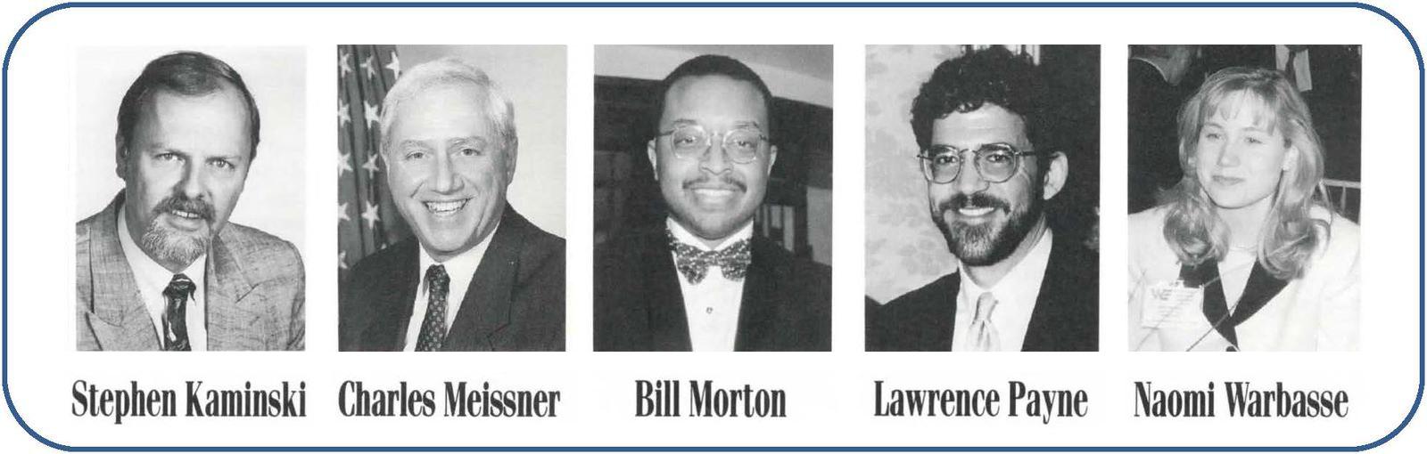ITA Employees from left to right: Stephen Kaminski, Charles Meissner, Bill Morton, Lawrence Payne, Naomi Warbasse